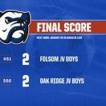 Folsom JV Boys Soccer Battles with Oak Ridge,Ends in a Tie