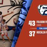 2019-20 Frosh/Soph Boys Basketball Final Score vs Rocklin