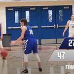 2019-20 Folsom JV Girls Basketball Wins in League Match-up vs Rocklin