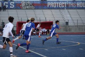 2019-20 Frosh/Soph Boys Soccer vs Oak Ridge 1/24/20