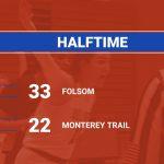 2019-20 Folsom Girls BB vs Monterey Trail-Halftime