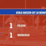 2019-20 Folsom Girls Soccer vs Woodcreek-1st 10 Minute OT