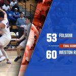 2019-20 Folsom Boys Basketball Loses a Hearbreaker to Weston Ranch