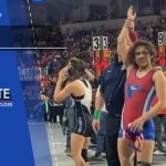 2019-20  Folsom Wrestler, Desinee Lopez Makes School History
