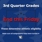Attention All Folsom Bulldog Athletes- 3rd Quarter Grades Determine Athletic Eligibility