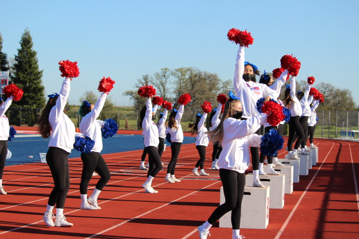 2020-21 Folsom JV & Varsity Sideline Cheer Photo Gallery