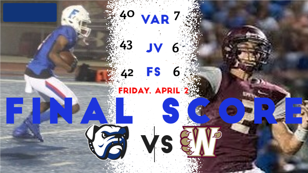 2020-21 Folsom Football Defeats Whitney on 4/2/21