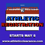 2021-2022 Folsom High School Athletic Registration starts Saturday, May 8