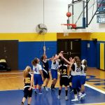 MS Girls Basketball Splits with Streetsboro