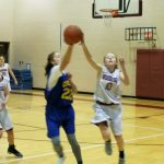 7th Grade Girls Basketball Defeats Woodridge; 8th Grade Falls