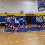7th Grade Girls Basketball Defeats Ravenna; 8th Grade Falls