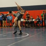 Wright's Championship Leads Wrestling Team to 8th Place Finish at Josh Hephner Memorial Tournament