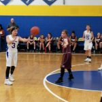 MS Girls Basketball Splits vs. Woodridge