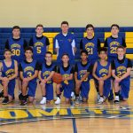 8th Grade Boys Basketball Wins Opening Game in PTC Tournament