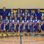 7th Grade Girls Basketball Finishes as PTC Runner-Up