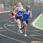 Girls and Boys Track Both Defeat Norton