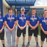 Tennis Team Ties For 2nd at PTC Tournament, Finishes 3rd Overall