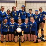 8th Grade Volleyball Team Goes Undefeated as MS Teams Open Up Season at Jackson Early Bird Invitational