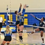 Volleyball Falls to Perry In Home Opener