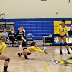 Volleyball Shuts Out Field