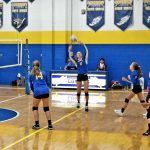 MS Volleyball Teams Make Quick Work of Woodridge