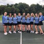 Girls Tennis Defeats Crestwood