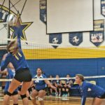 MS Volleyball Teams Both Pick Up 2 Wins Last Night