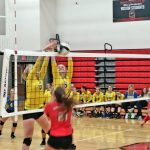 Volleyball Team Sweeps Springfield