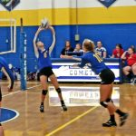 MS Volleyball Sweeps Springfield