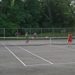 Girls Tennis Shuts Out Field