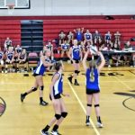 MS Volleyball Splits vs. Norton