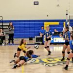 Volleyball Team Sweeps Manchester