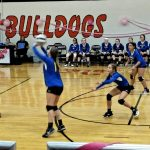 MS Volleyball Defeats Green