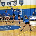 MS Volleyball Sweeps Ravenna