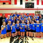 MS Volleyball Teams Both Win PTC Championship