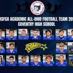 Football Team Named Academic All-Ohio Team