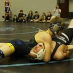 Fagan Places 2nd to Lead Wrestling Team at Panther Holiday Classic