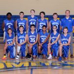 Freshman Boys Basketball Team Defeats Cloverleaf