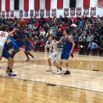 Boys Basketball Defeats Norton on Thompson Buzzer Beater