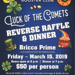 Coventry All-Sports Boosters Set to Host Annual Reverse Raffle March 15th
