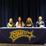 Four Comets Sign to Continue Athletic Careers in College