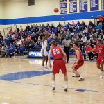 Boys Basketball Splits Pair of Games Over the Weekend