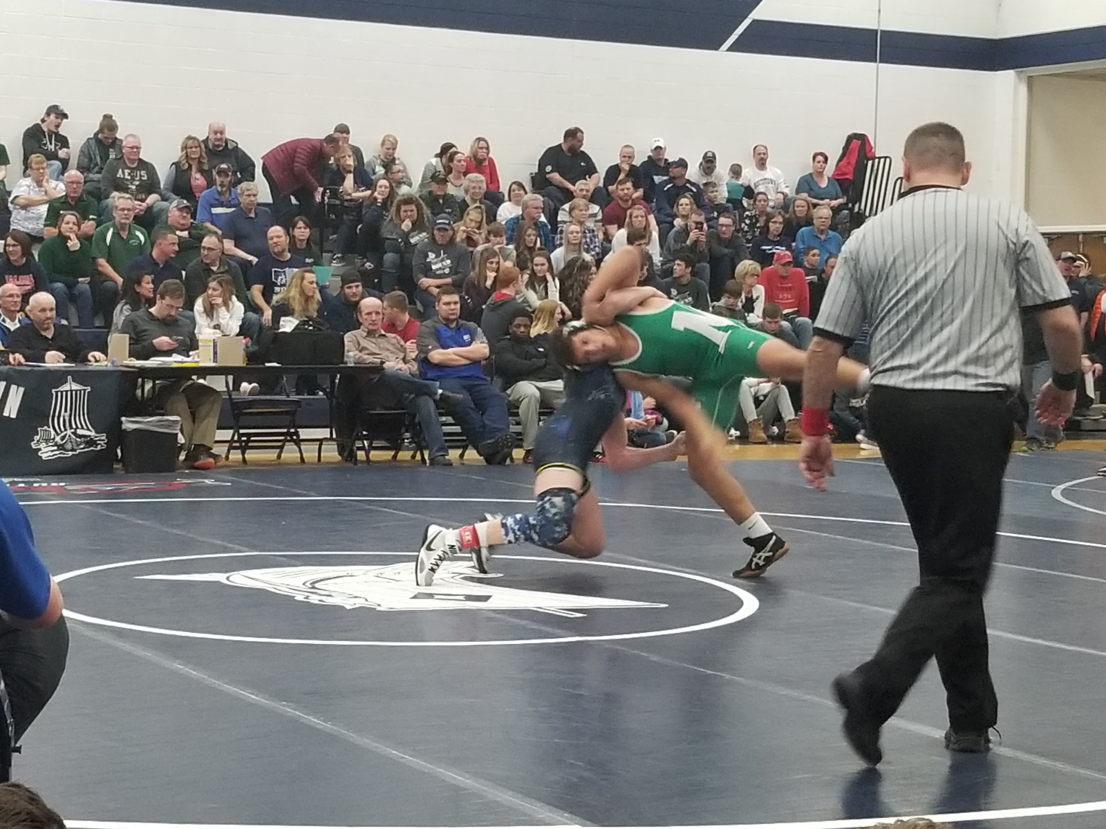 Wrestling Team Places 4th at PTC Tournament; Knuckles and Hinzman Win Titles