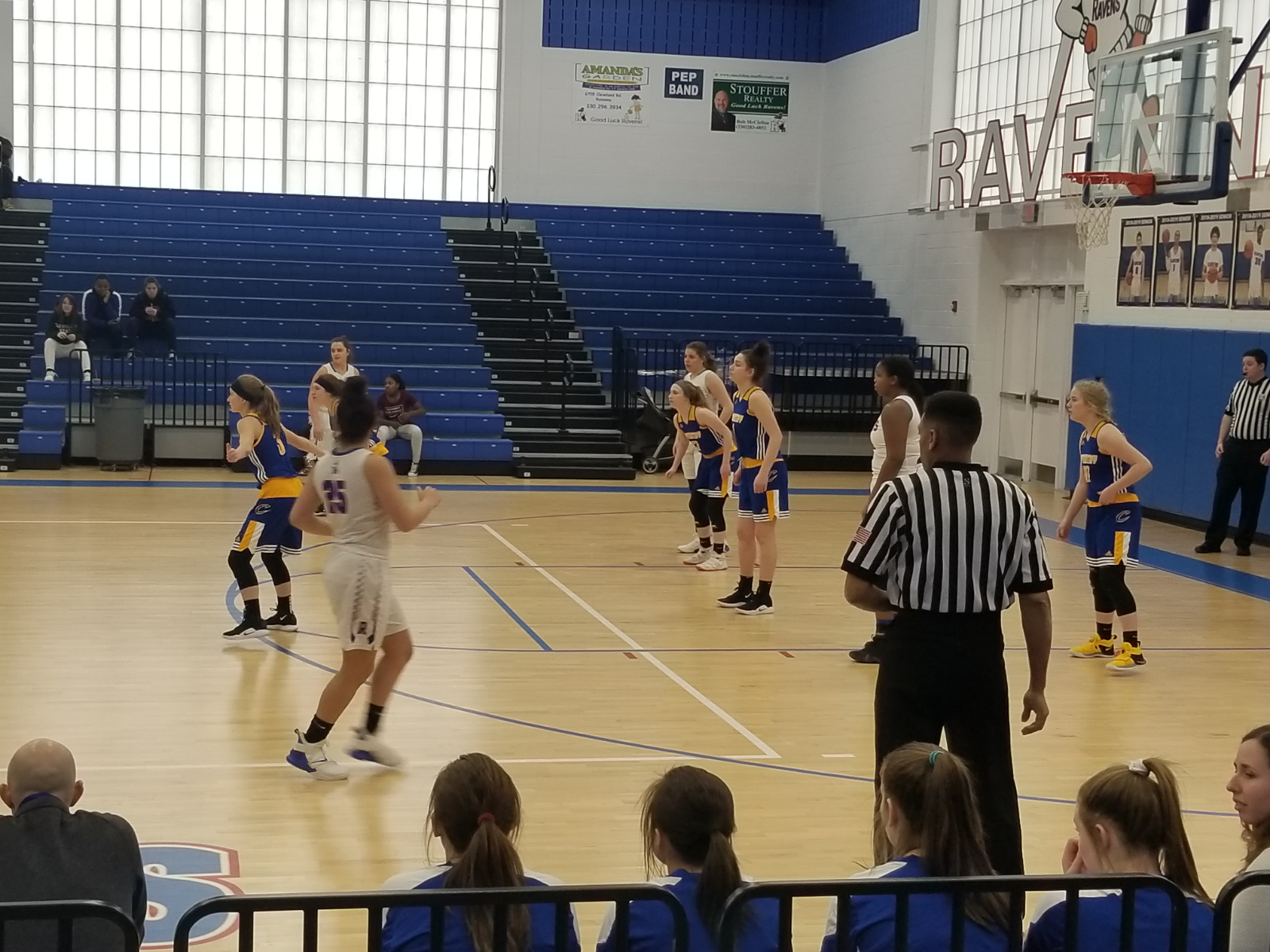 Girls Basketball Loses to Ravenna in Opening Round of OHSAA Tournament