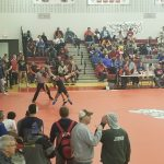 Five Wrestlers Advance to District Tournament; Hinzman Wins Sectional Title