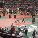 Austin Hinzman Set to Compete in State Championship Match Tonight; Miles Knuckles to Wrestle for 7th