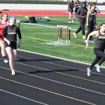 Girls Track Defeats Norton; Boys Tie the Panthers