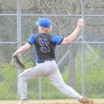 Baseball Beats Springfield Behind White's Complete Game