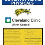 Coventry Athletics to Offer Physicals for the 2019-2020 School Year