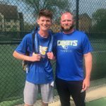 Alan Byers Qualifies for District Tennis Tournament